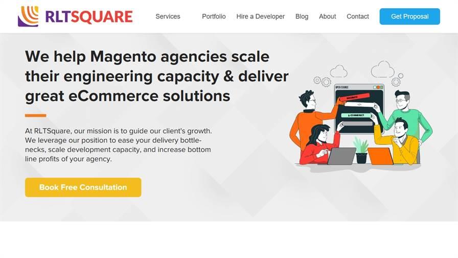 RLTSquare - Magento Agency Pakistan