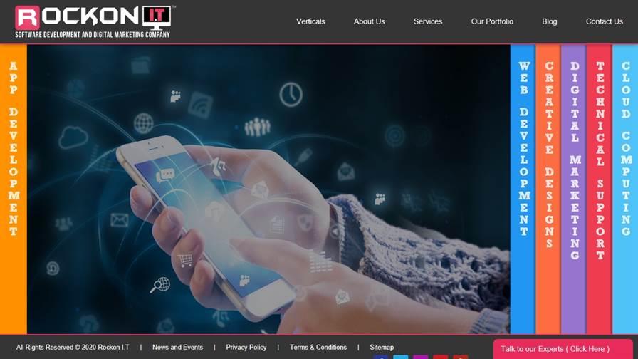 Rockon I.T – Software Development and Digital Marketing Company