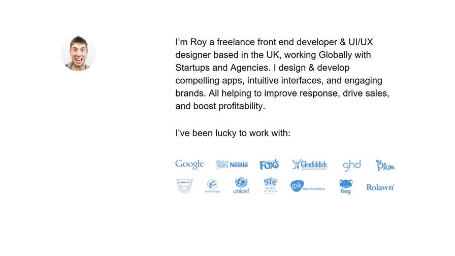 Roy Barber Freelance UI/UX Design & Front End Development