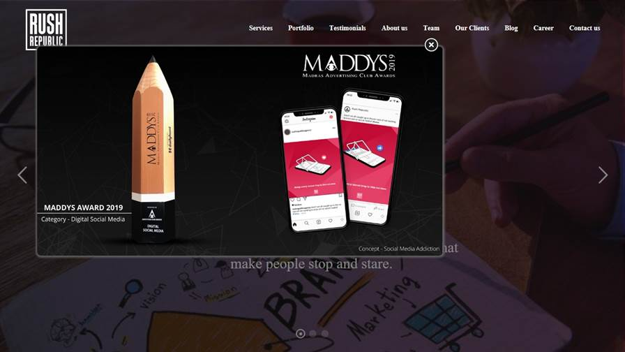Rush Republic - Branding & Creative Graphic Design & Digital Marketing Agency in Coimbatore