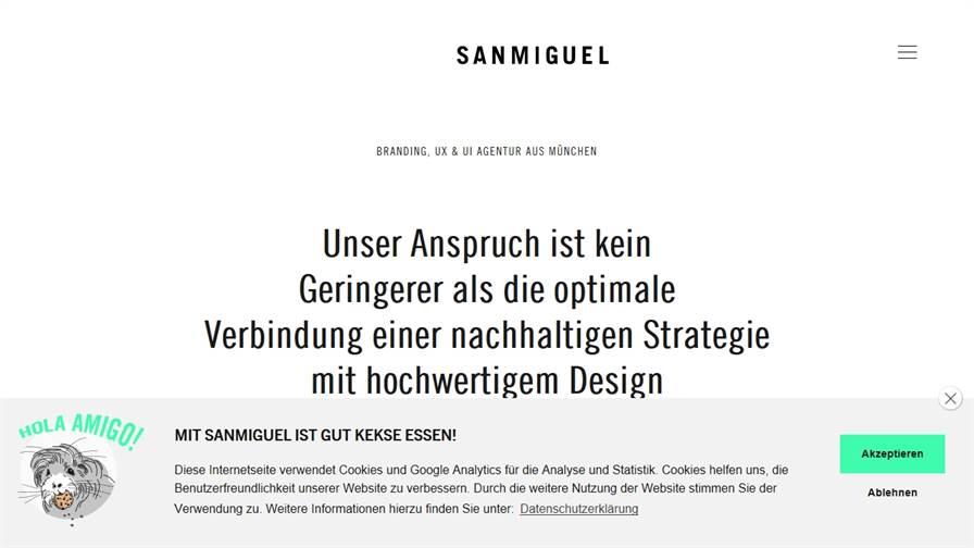 SANMIGUEL Branding, UX & UI Agentur