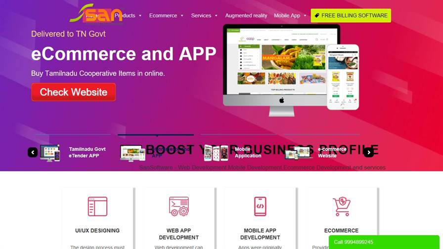 Software Development and Website Designing
