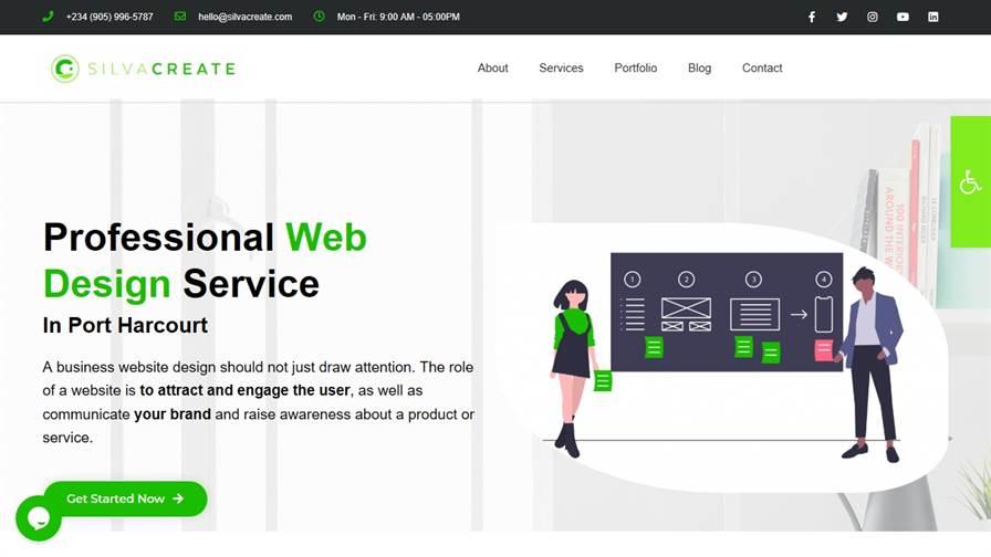 SilvaCreate | Web Design Digital Agency