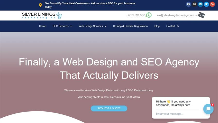 Silver Linings Technologies - Web Design and SEO Agency