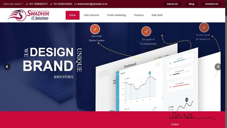 Swadhin IT Solutions - (Website design/ designing/ Software development company in Bhubaneswar |Ecommerce development company in Bhubaneswar| Mobile app development company in Bhubaneswar| MLM |Bulk SMS service in Bhubaneswar)