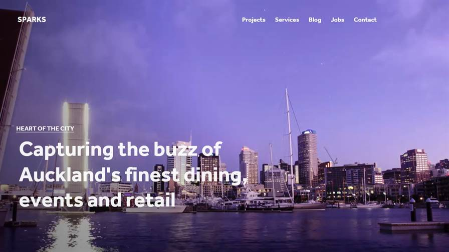 Sparks Interactive   Web Design and Development   Full Service Digital Agency   Wellington Office