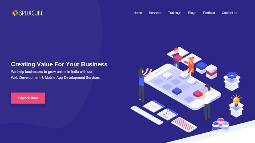 Splixcube - Web Development Company In Udaipur | Digital Marketing In Udaipur | Angular Training Institute | IT & Software Company In Udaipur