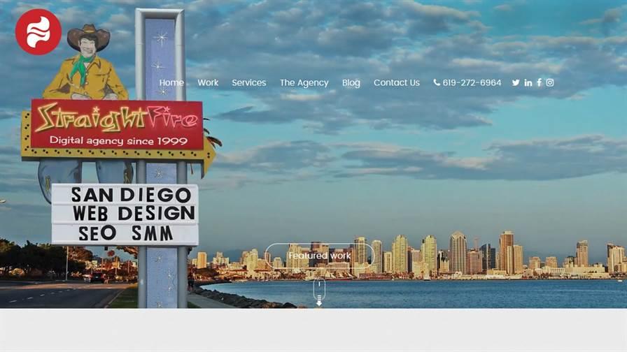 StraightFire - San Diego Web Design Company
