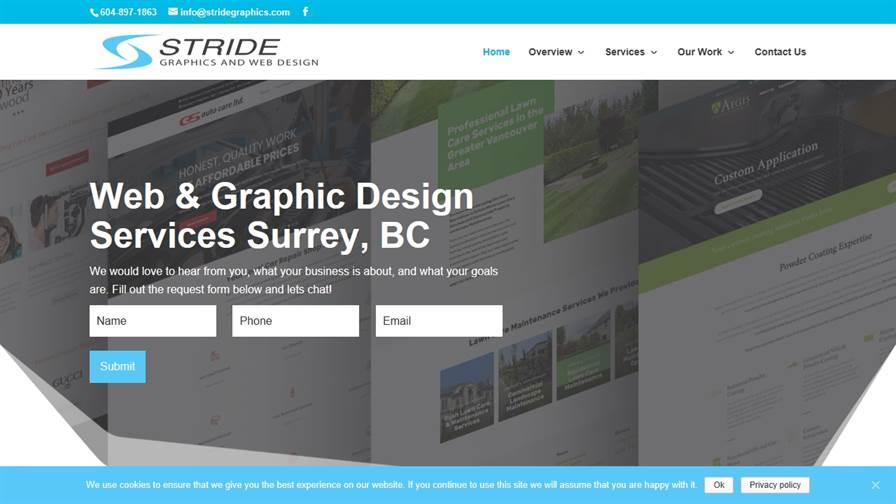 Stride Graphics & Web Design