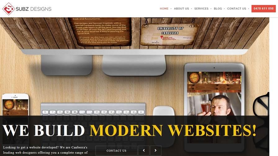 Subz Designs - Web Design Canberra