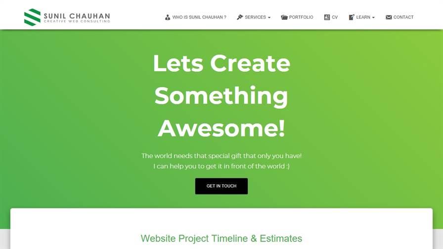 Sunil Chauhan Creative Web Consulting