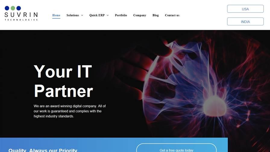 Suvrin Technologies | Ecommerce, Website Designing and Development Company in Gurgaon, India | SEO Company Gurgaon