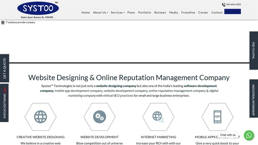 Systoo™ Technologies- #1 Digital Marketing Company in Kanpur