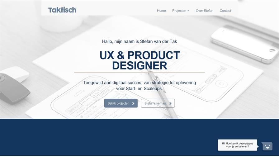 Taktisch - UX & Product Designer