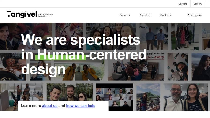 Tangível - Human-centered design