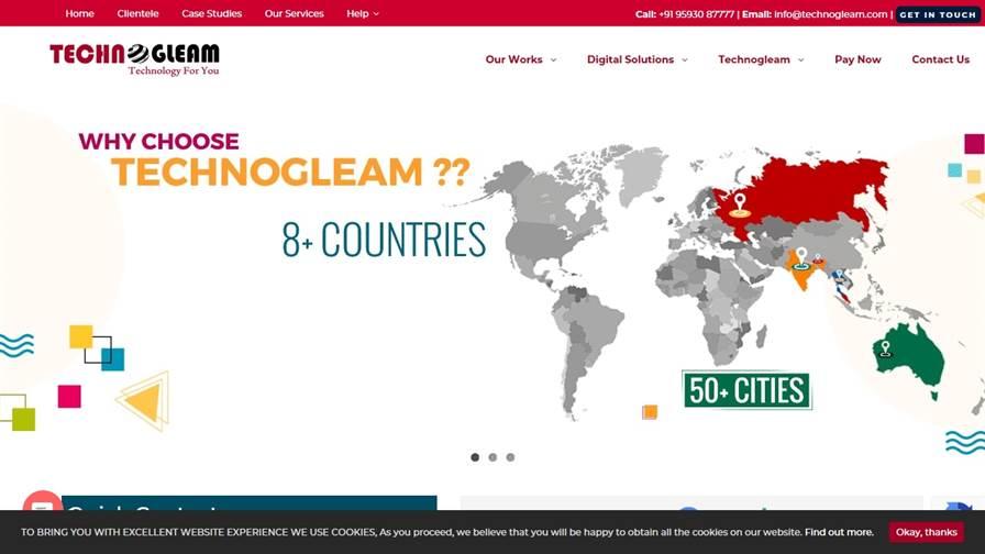Technogleam-Website Design, SEO, Mobile App Development Company in Siliguri