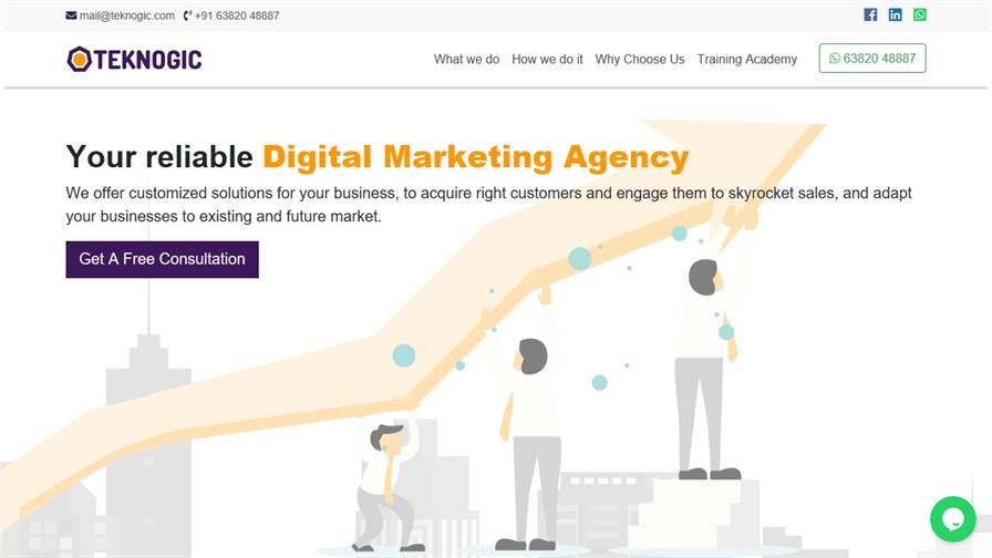 Teknogic Digital Marketing Company