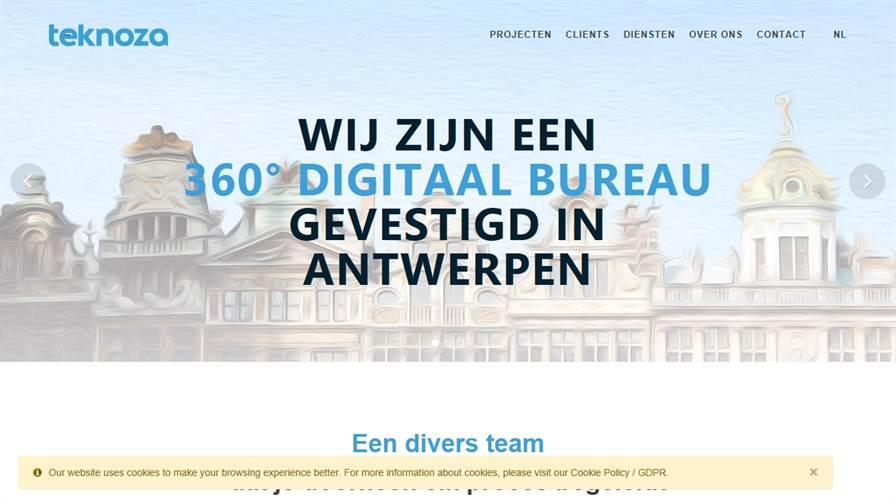 Teknoza | Webdesign