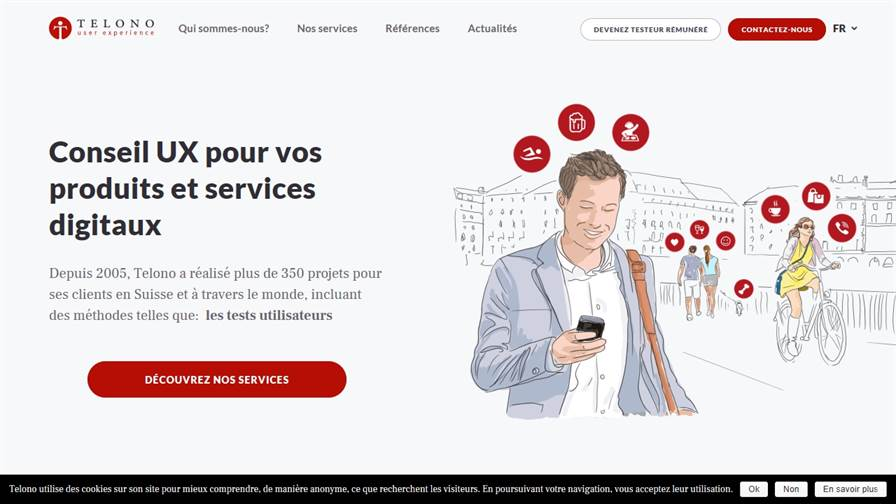 Telono - UX agency