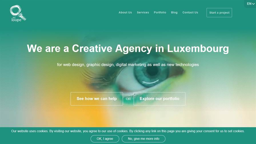 The Loupe - Web und Graphic Design in Luxembourg