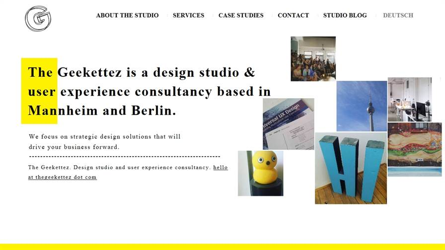 The Geekettez - Design Studio and user experience consultancy