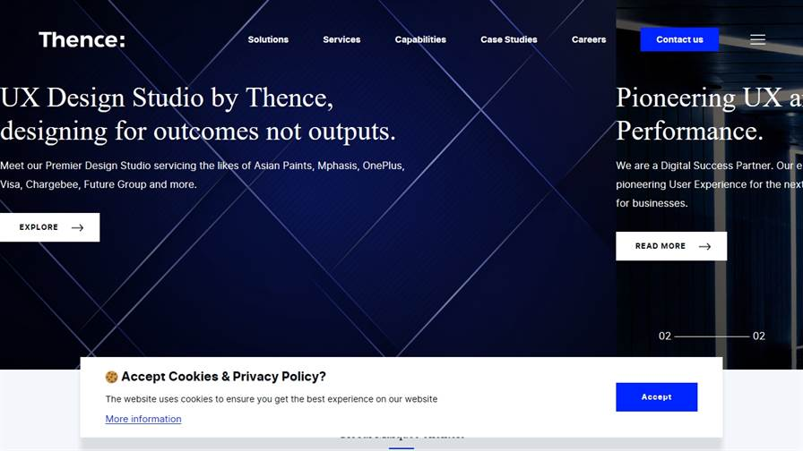 Thence UX UI Design Agency