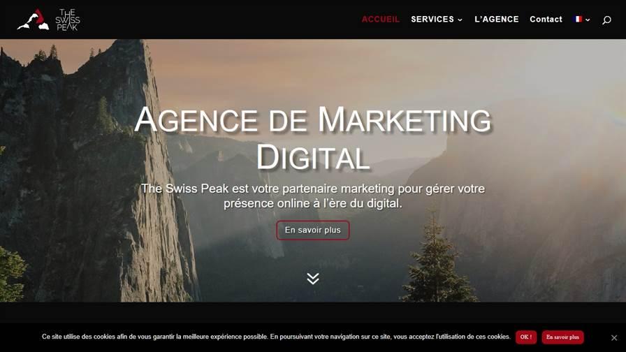 The Swiss Peak Digital Marketing | Lausanne