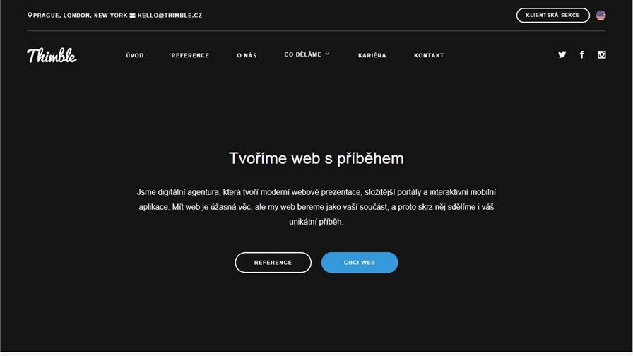 Thimble - Digital Agency