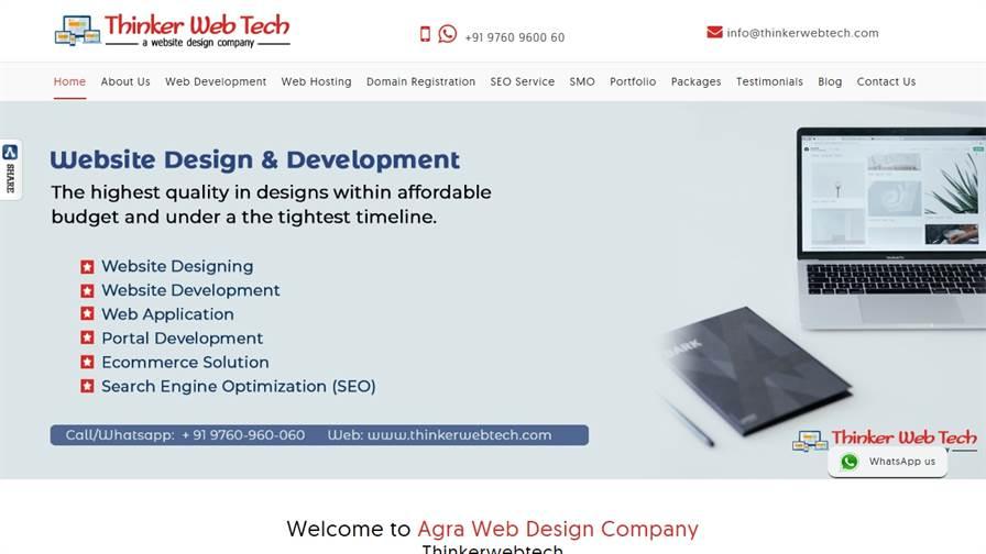 Thinkerwebtech - Web Designing/SEO Company