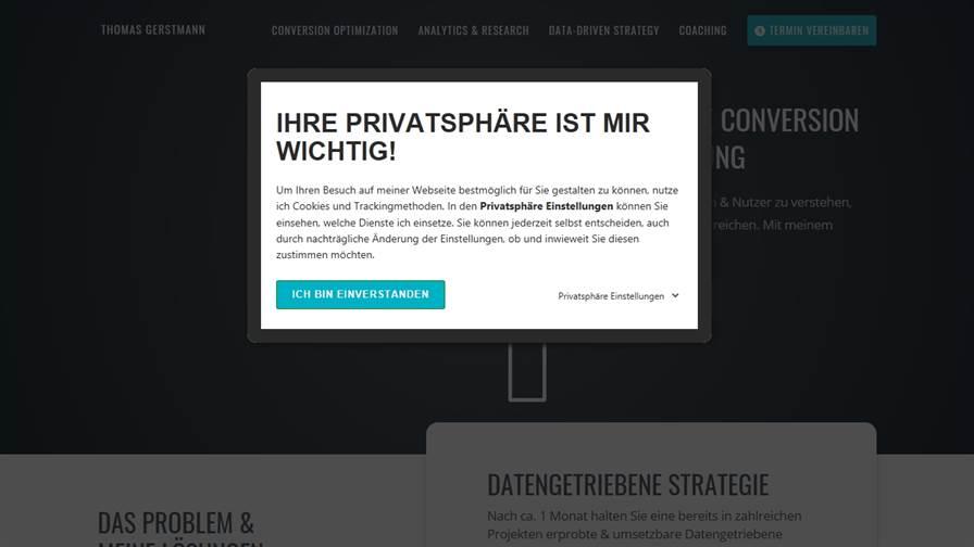 Thomas Gerstmann // Data-Driven UX Optimization