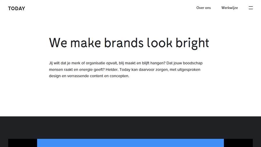 Today | Branding design agency