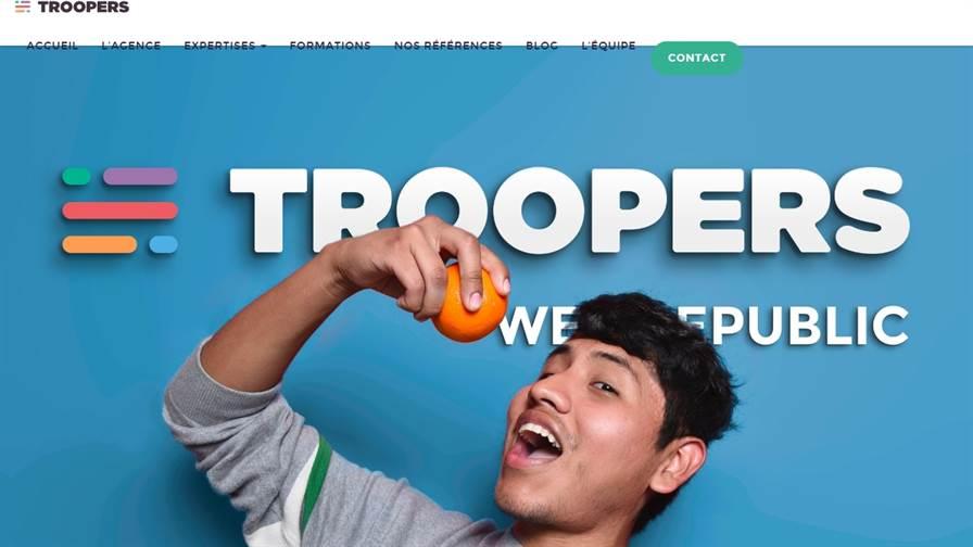 Agence digitale Troopers