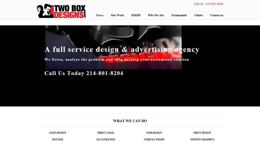 Two Box Designs