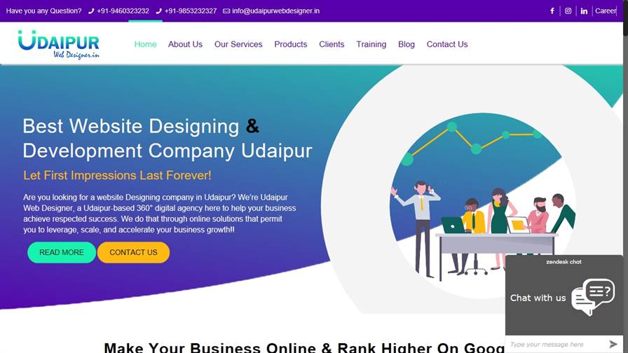 Web Design Company in Udaipur | SEO Company in Udaipur