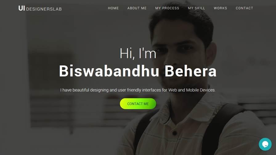 Biswa Bandhu Behera ( UI Designer )