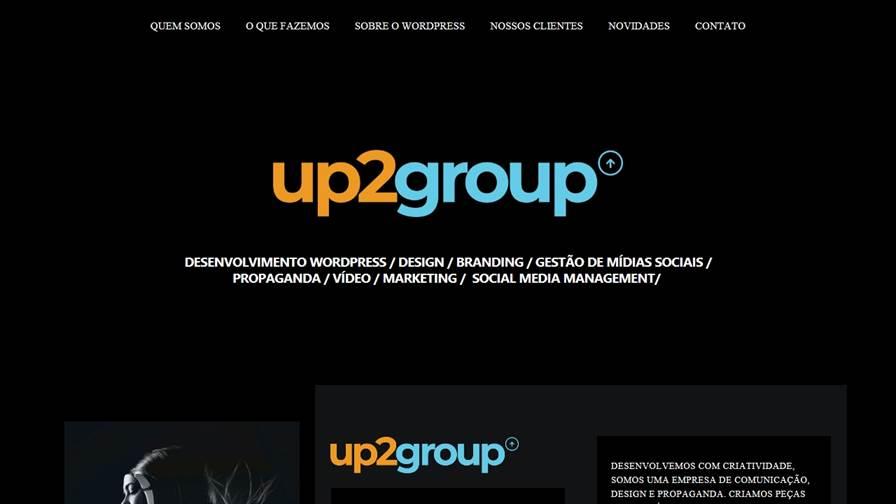 Up2Group - Propaganda e Criação de Sites em São José dos Campos e São Paulo