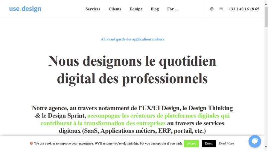 Use Design : agence d'UX/UI Design