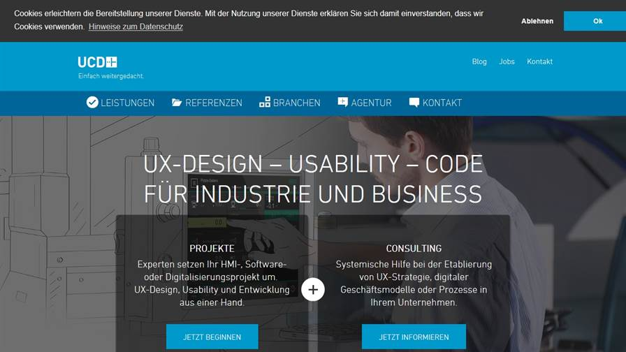 UCDplus GmbH = User Interface Design / User Experience Design / Usability