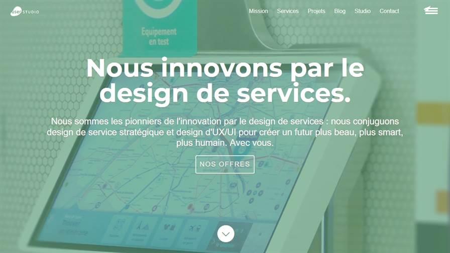 USER STUDIO – Design de services et innovation