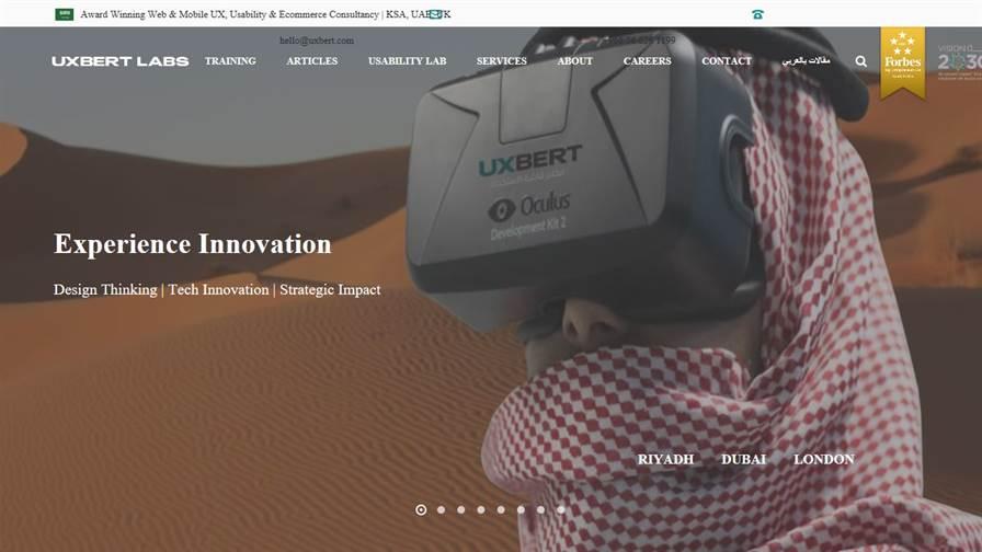 UXBERT Labs | Award Winning Experience Design Agency in Dubai