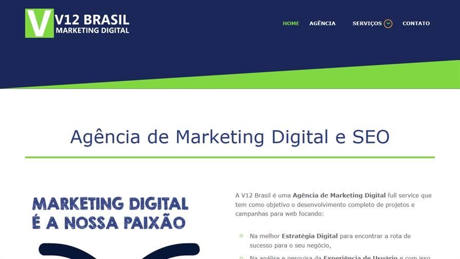 Agência V12 Brasil Marketing Digital
