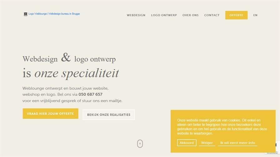 Weblounge • Logo ontwerp & webdesign