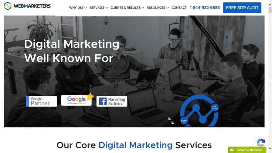 WebMarketers Digital Marketing - Ottawa