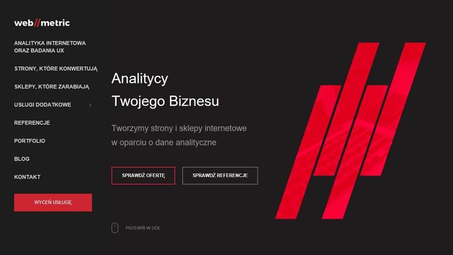 Webmetric - analityka internetowa i UX