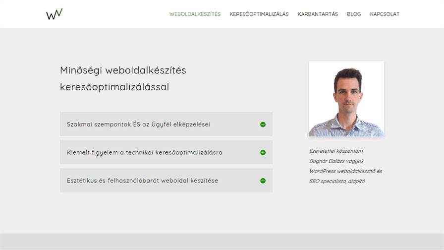 Weboldalkészítés Vállalkozásoknak