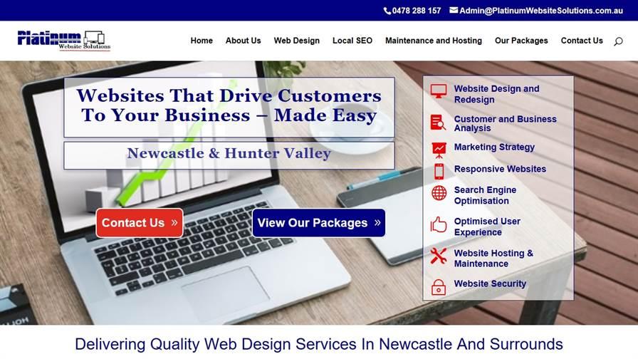 Platinum Website Solutions Pty Ltd