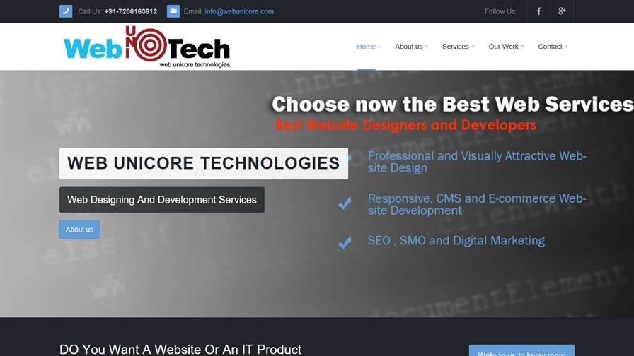 Web Unicore technologies