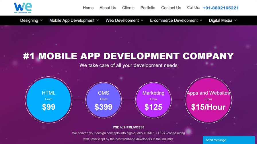 WeHyphens Private Limited - MOBILE APP DEVELOPMENT COMPANY