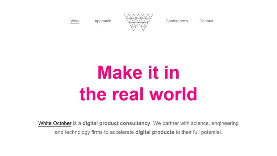 White October - Digital Product Consultancy, London + Oxford