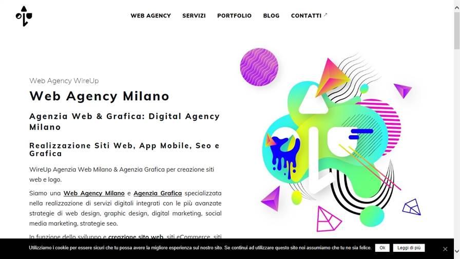 WireUp - Web Agency e Agenzia Grafica Milano